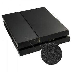 Solid Matte Black Hard Drive Bay Cover Faceplate for P S 4 Console