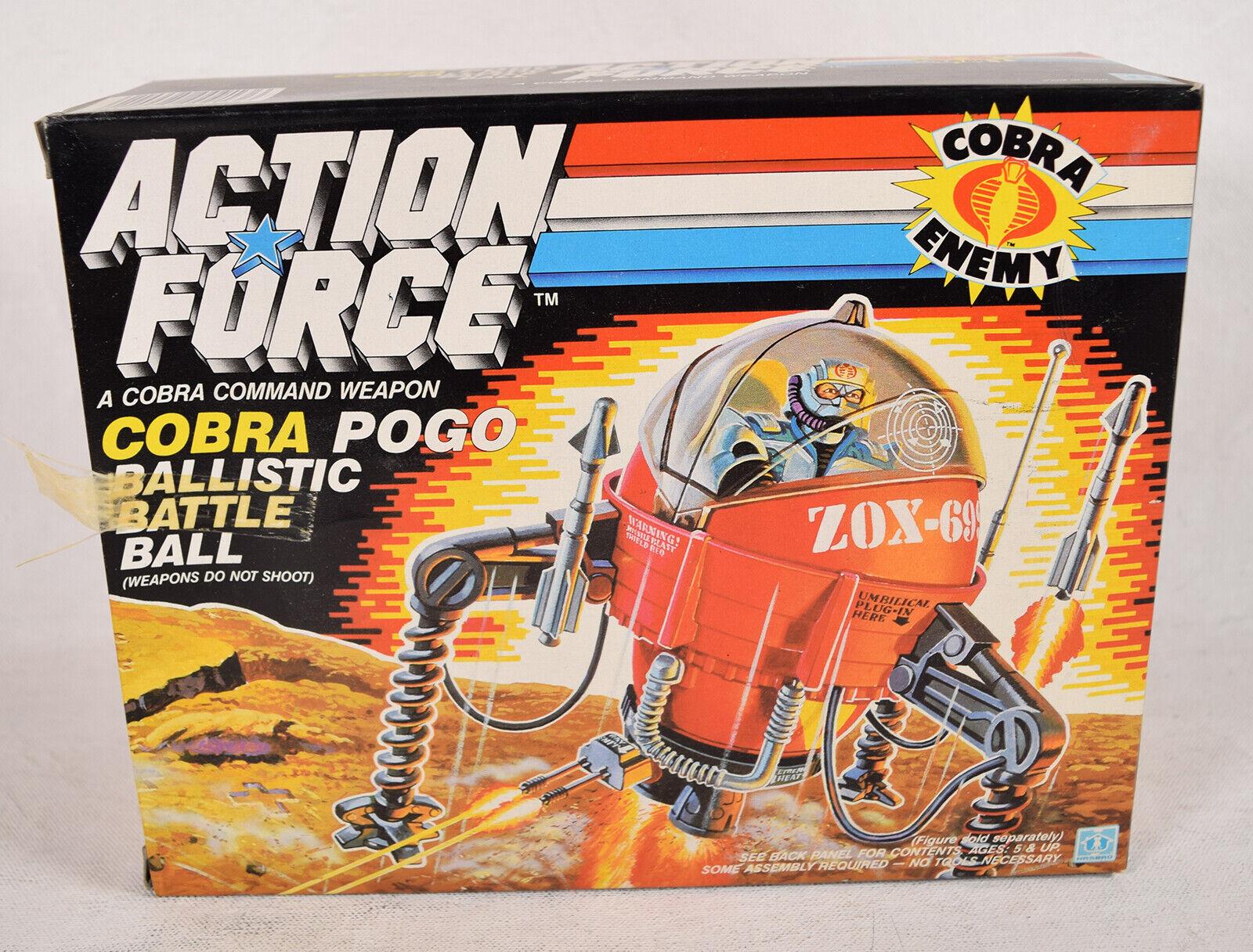 G.I. Gi Joe Cobra Pogo balística Bola de batalla vehículo Euro Europeo Nuevo