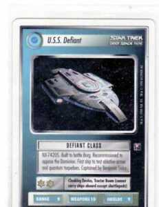 Star Trek CCG Deep Space 9 Rare Cards Straight From Sealed Boxes Drop Down Sale.