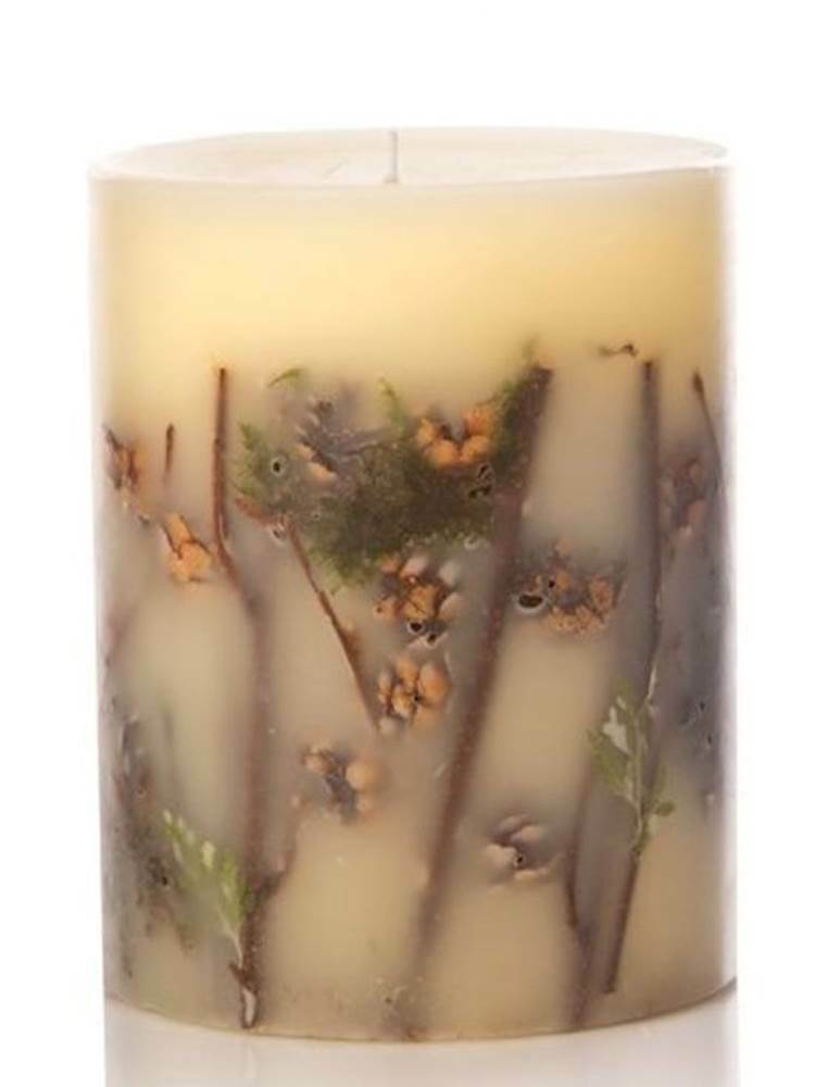 FOREST Rosy Rings Medium 6.5 Inch 200 Hour Pillar Botanical Scented Candle