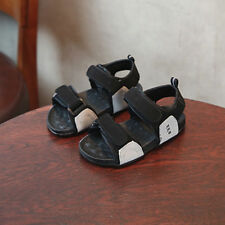 abc77f8b01acba Infant Kids Boys Girls Leather Beach Shoes Sport Casual Walking Summer  Sandals