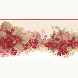 Co77197dc Schone Drucke 4 Blumenmuster Creme Rot Galerie Tapete