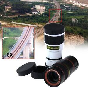 1x-Universal-8x-Zoom-Magnifier-Camera-Lens-For-Mobile-Phone-Telescope-Clip-On-PE