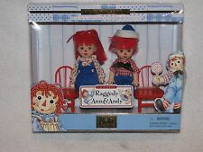 MIB Mattel Kelly Raggedy Ann & Andy Dolls GREAT FRIENDS For Liddle Kiddle Dolls