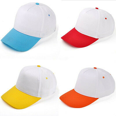 Kids Boys Girls Hip-Hop SnapBack Baseball Cap Children Adjustable Sports Sun Hat