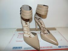 406d90311be SAM EDELMAN CLAIRE Classic Sandals Nude Leather Ankle Cuff Pointed Size 9  -NEW! SAM EDELMAN CLAIRE Classic Sandals Nude Leather Ankle Cuff Pointed  Size 9