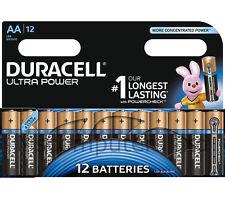 12 Pack Duracell Ultra Power AA Batteries 1.5V Alkaline