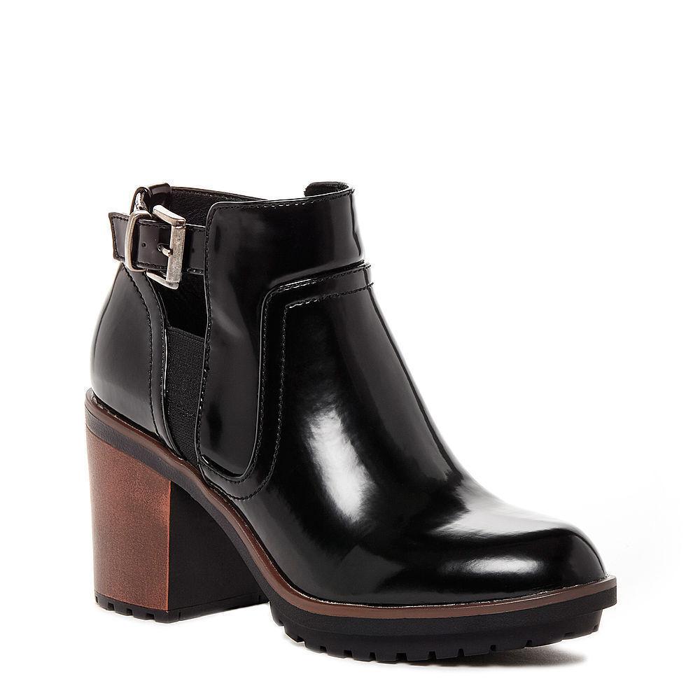 ROCKET DOG Pour Femme Femme Femme Talons Hauts Bottes Chaussures Noir Taille 8 pas Skechers Fly London Wrangler 4fd4ca