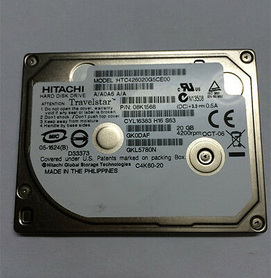 Hitachi 08K1568 20GB Hard Drive
