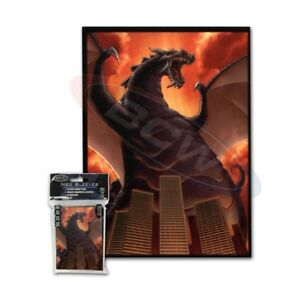 Max-Protection-100-MTG-Standard-Card-Sleeves-Deck-Protector-The-Destructor