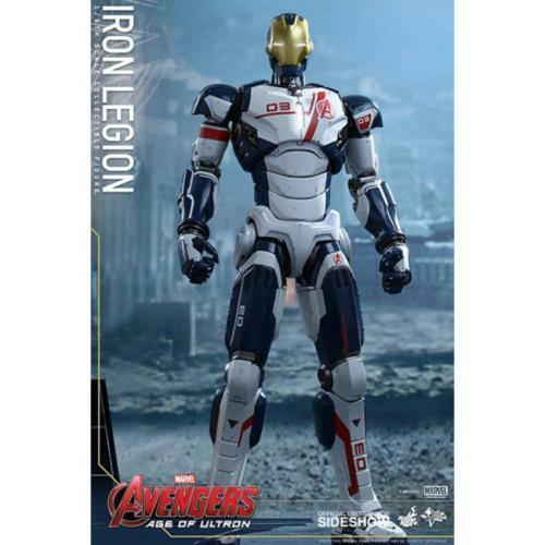 IRON LEGION IRON MAN HOT TOYS SIDESHOW MARVEL  STOCK