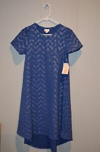 W Blue Collection Arrows Elegance Carly Texture small X silver Lularoe Zw10qxgXc