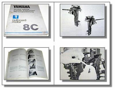 Yamaha Aussenborder Werkstatthandbuch Wartungsanleitung 30D