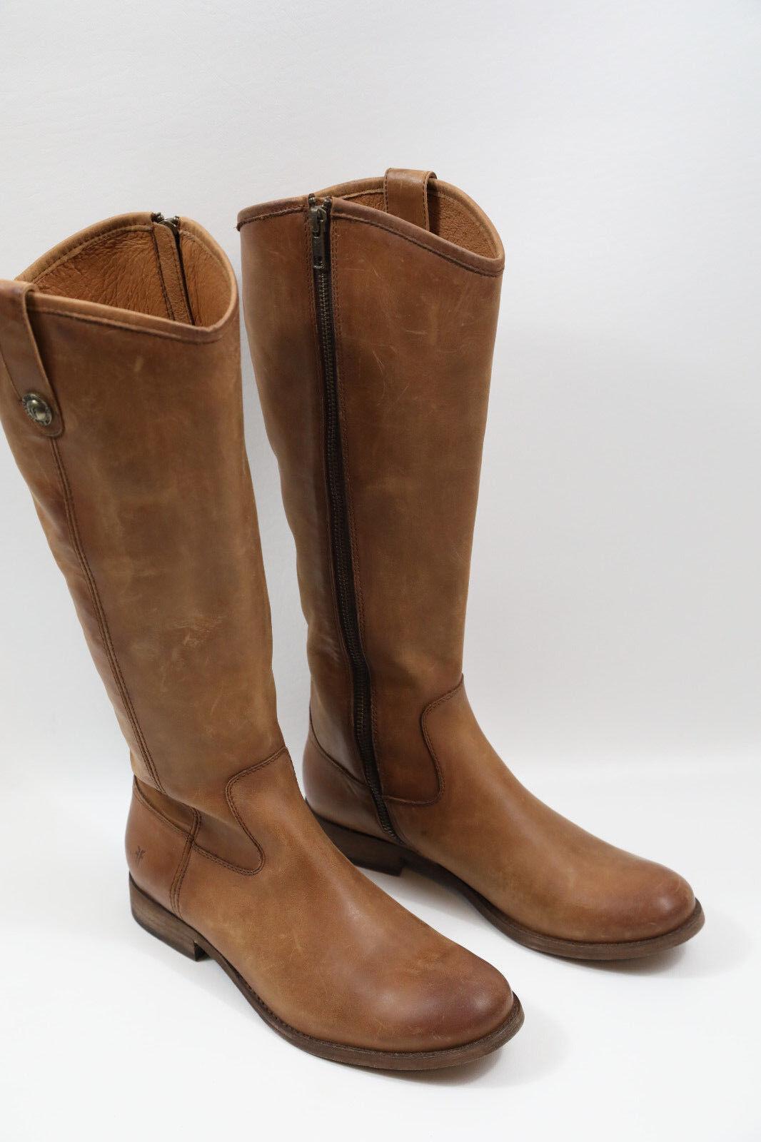 10 FRYE Melissa Size Zip Knee High Boots Size 8 M