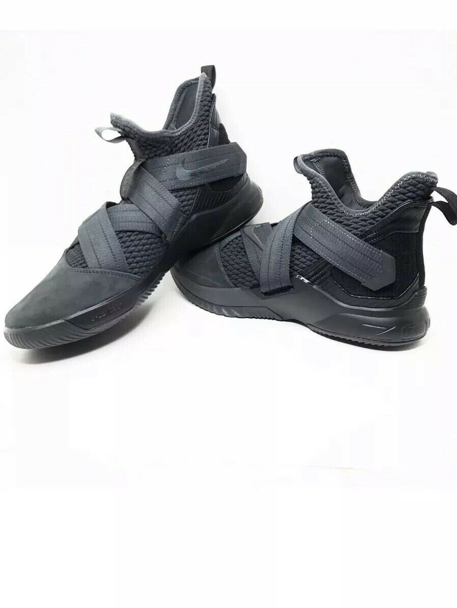 Men's Nike Lebron Soldier  XII SFG Size 10 Anthracite Black AO4054 002