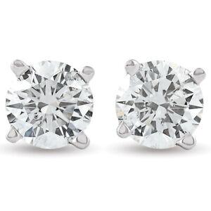 3-4ct-Diamond-Studs-14K-White-Gold