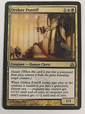 Mtg Magic 1x Orzhov Pontiff Haunt Human Cleric Ebay I forgot to include this in the video: mtg magic 1x orzhov pontiff haunt human cleric ebay