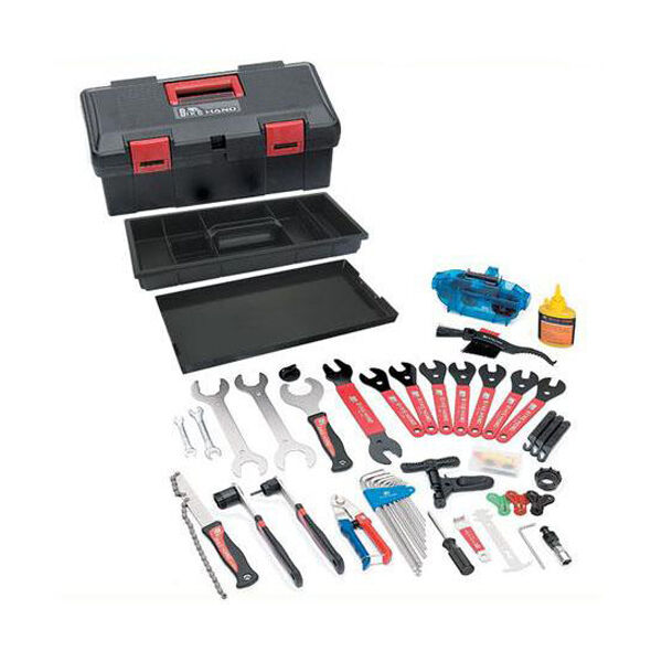Deluxe Mobile Bicycle Tool Kit Ideal for the home  mechanic  buy brand