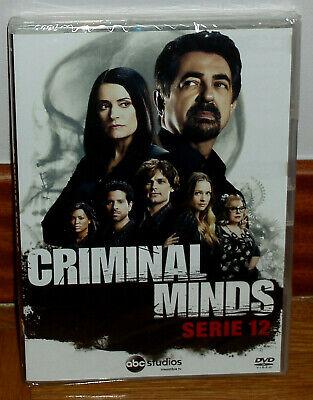 Mentes Criminales 12º Temporada Completa 5 Dvd Nuevo Precintado Español Serie R2 Ebay