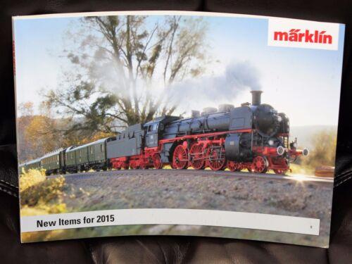 MARKLIN NEW Items For 2015 Catalog