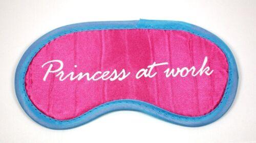 "Masque sommeil Yeux Masque Sommeil Lunettes /""Princess at Work/"" Bandeau"