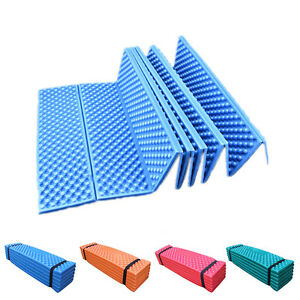 Details about Ultralight*Foam Camping Mat Folding Beach Tent Sleeping Pad  Waterproof Mattress-