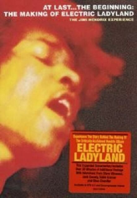 """JIMI HENDRIX """"ELECTRIC LADYLAND THE MAKING OF..."""" DVD"""