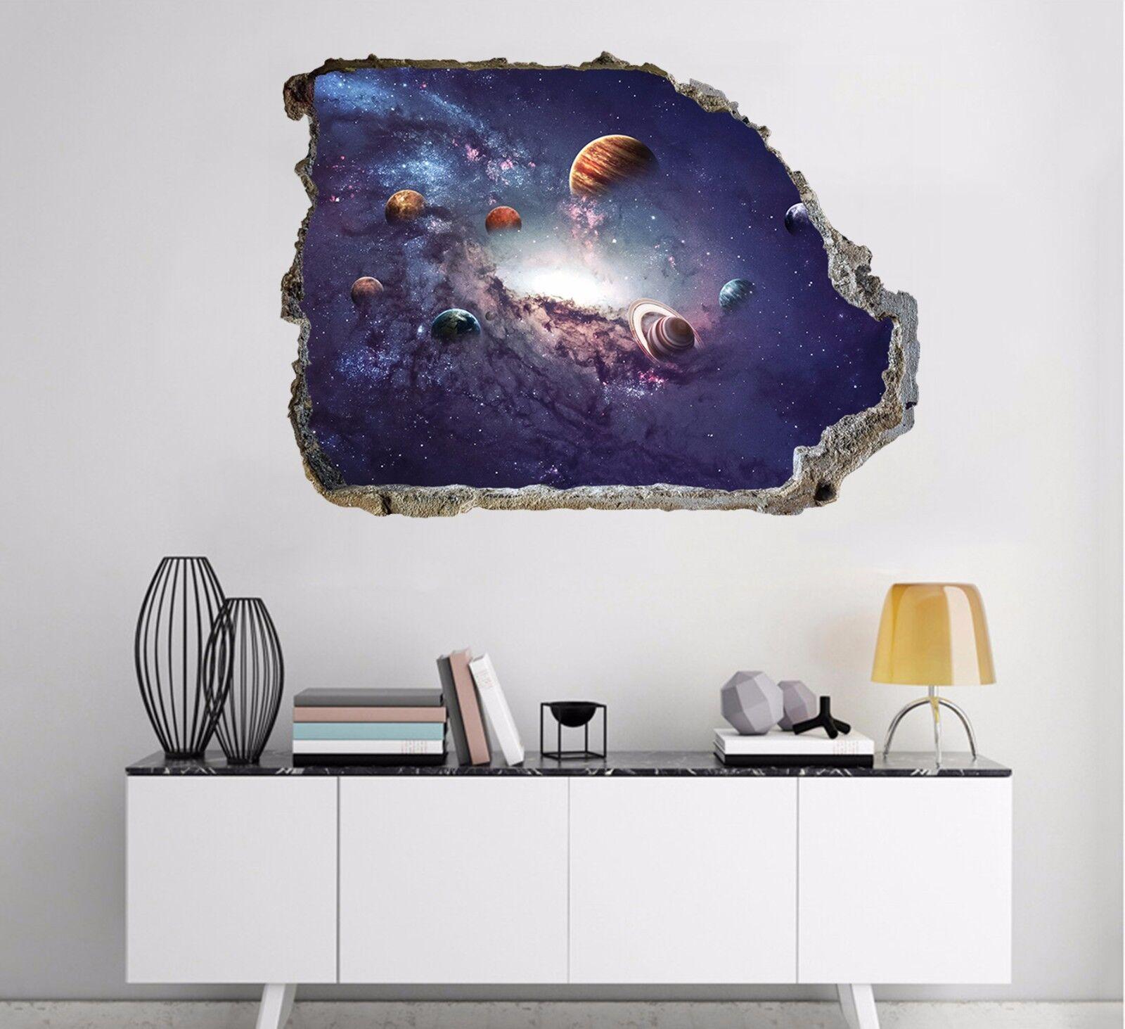 3D Planet Himmel 78 Mauer Murals Mauer Aufklebe Decal Durchbruch AJ WALLPAPER DE