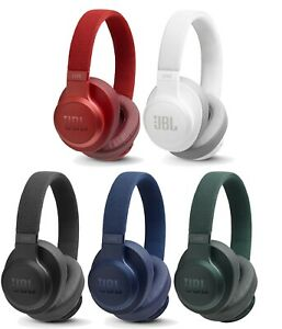 Jbl Live 500bt Wireless Bluetooth Over Ear Headphones With Built In Microphone Ebay