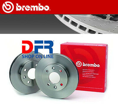 W176 2 DISCHI FRENO ANTERIORE BREMBO MERCEDES CLASSE A A 200 CDI KW:100 2012/>