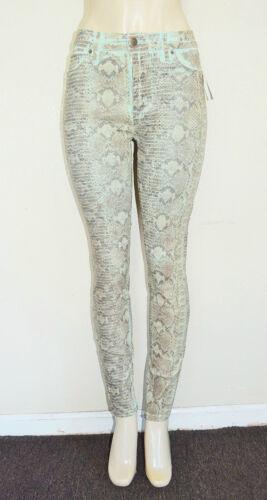 Hi Sz donna da Jeans 27 turchese rise skinny Power Guess qxwtA18A