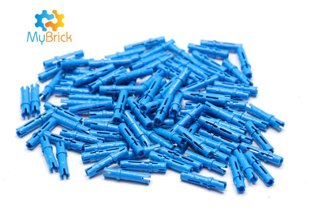 100x Lego Technic Pin 3L with Friction Ridges - 6558 - Free Postage