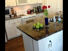 "Instant Peel and Stick Granite Dark Emperador Look Counter Top Film 36"" X 8'"
