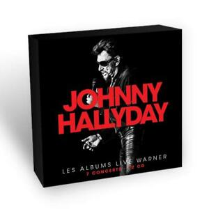 Johnny-Hallyday-Johnny-Hallyday-Les-Albums-Live-Palourde-Box-12-CD-NEUF