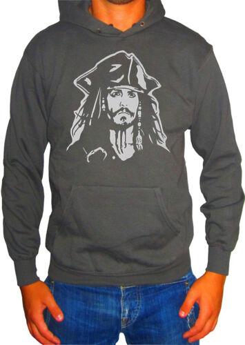 Fm10 Kapuzenpulli Herren Jack Sparrow Piraten der Karibik Johnny Depp Cine