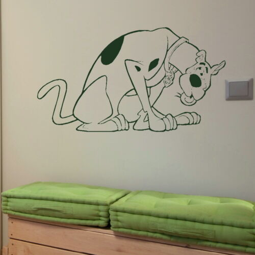 Scooby Doo Dog Wall Art Sticker Large Vinyl Transfer Graphic Decal Decor bn59
