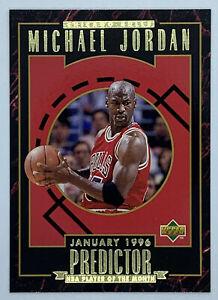 1995-96 UPPER DECK MICHAEL JORDAN PREDICTOR CARD #R2