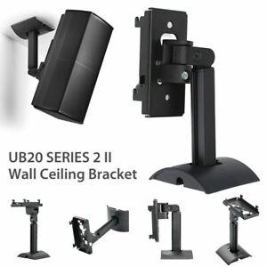 Metal-Surround-Sound-Wall-Bracket-UB20-Speaker-Wall-Mount-Brackets-Holder-Stand