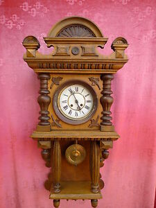 Bella antico grande orologio parete sedia cantilever 94cm ebay - Sedia cantilever ...