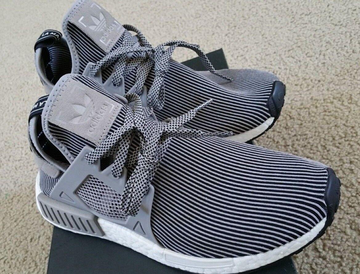 New In Box Adidas NMD XR1 ZEBRA Stripe Black & Grey US Size 9 100% authentic