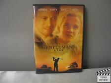 A Gentlemans Game (DVD, 2002)