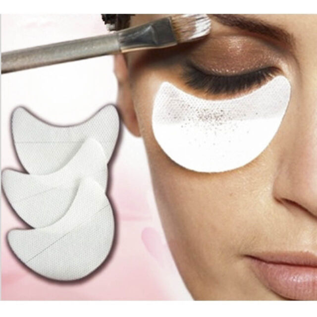 50pcs/lot Disposable Eye Shadow Cosmetic Pads Shields Guards  Beauty Tool NP2X