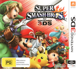 Nintendo 3DS Super Smash Bros. SSB Brand New Australian Release