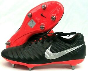 new styles bcd2f a0449 Details about Nike Tiempo Legend 7 Elite SG Flyknit ACC Black AH7424-007  Mens Sz 7