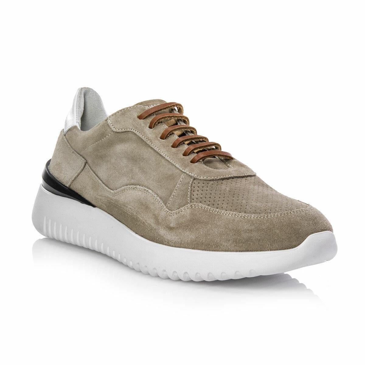 Chaussures D'Acquasparta Homme à 1.0 Velour Tourterelle