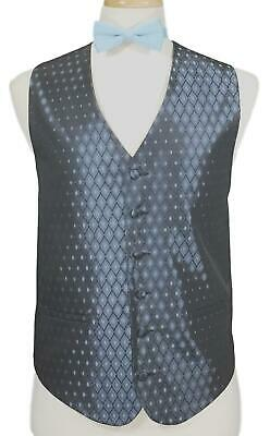 Bill Blass Bracci Leonardo RED Tuxedo Vest /& Tie Set Men/'s