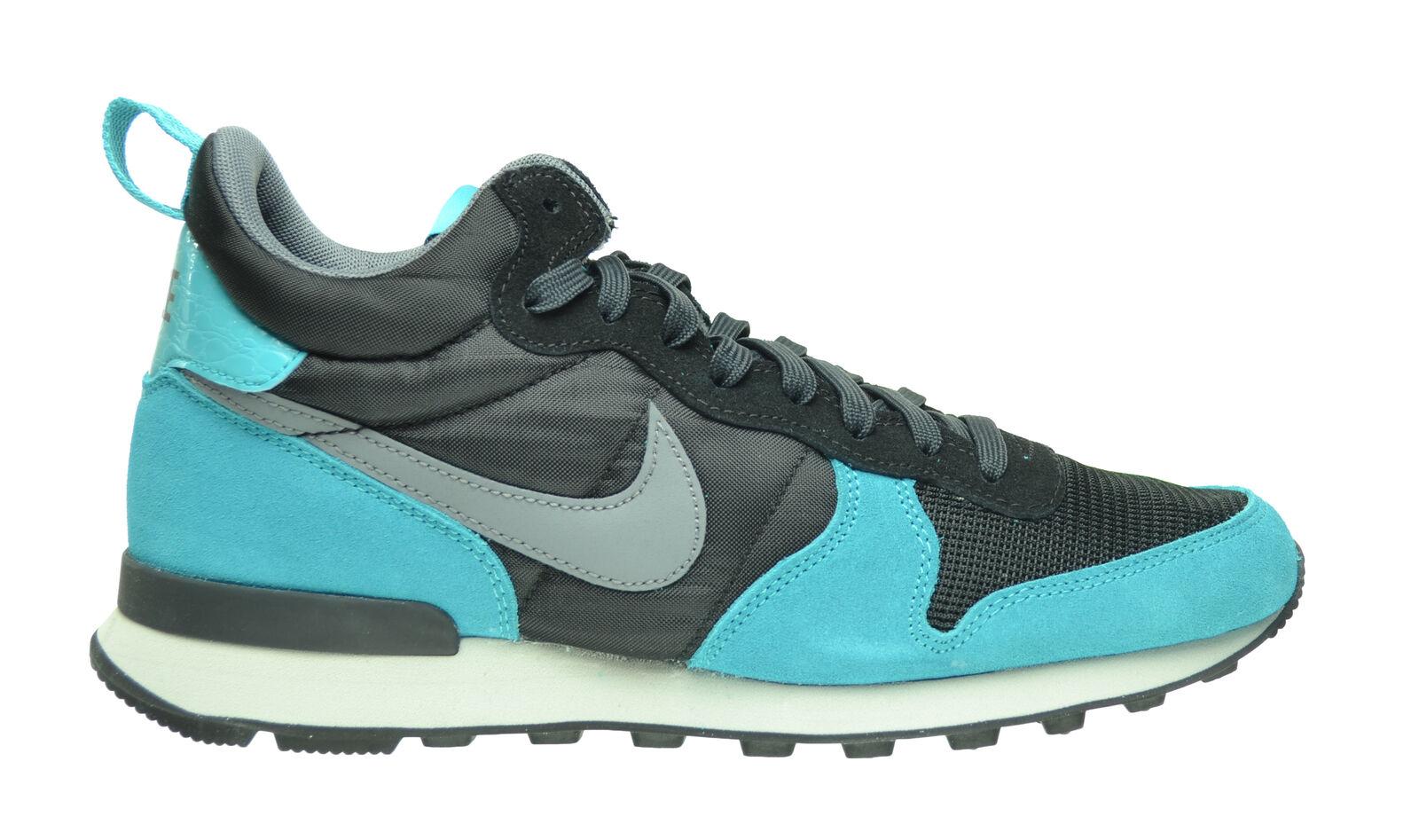 Nike internationalistischen mitte männer / schwarz / männer grau / dusty ccts cool / anthrazit 682844-003 a2d758