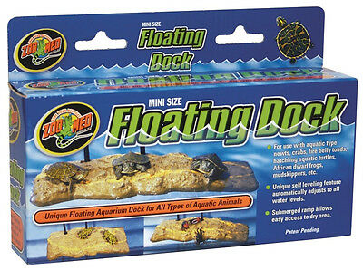 ZOO MED TURTLE DOCK MINI WITH 4 SUCTION CUPS NEW FREE SHIPPING IN THE USA ONLY
