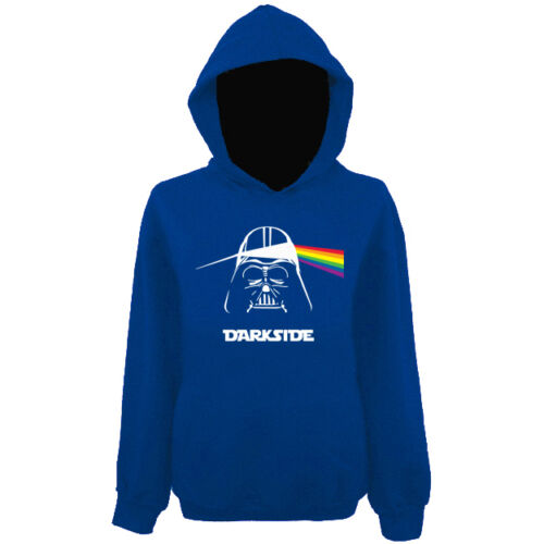 Mens Darkside Darth Vader Pink Floyd Pullover Hoodie NEW UK XS-XXL
