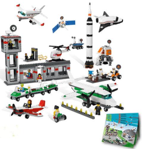 LEGO ® 9335 4 Espace et Aéroport 1176 pièces pièces pièces Education Kiga refuge | Qualité Et Quantité Assurée  540d80